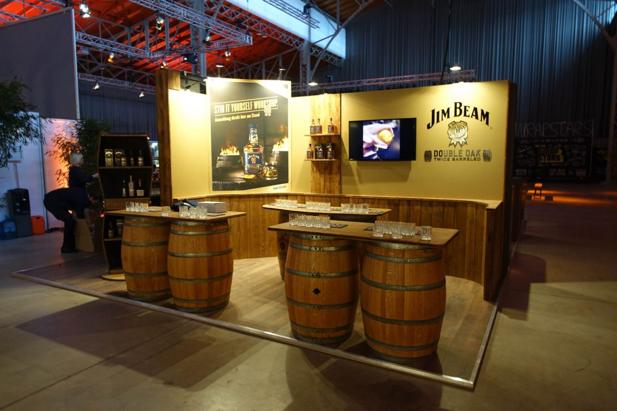 Messebau - Messestand - Beam Suntory