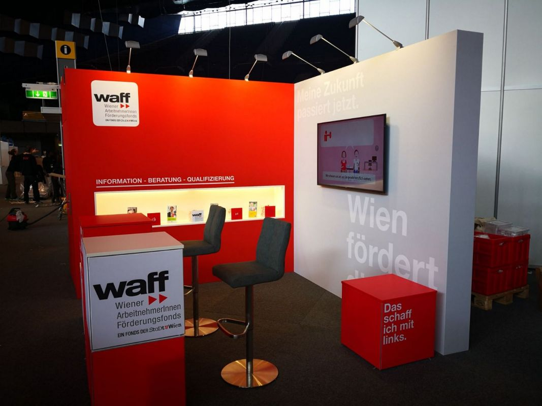 Best Messestand Waff Messebau